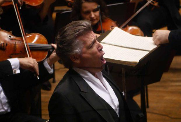 Thomas Hampson sang Lieder von Aaron Copland. Foto: Luca Kunze
