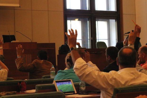 Bei der Abstimmung reichte es denoch für das Sofortprogramm. Foto: Michael Freitag