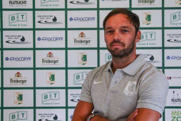 Andy Müller, Sportlicher Leiter BSG Chemie Leipzig. Foto: BSG Chemie Leipzig/Christian Donner