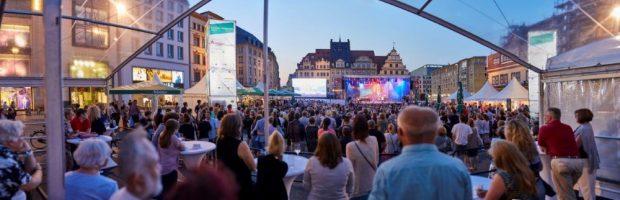 Bachfest Leipzig 2018: Bach Open Air auf dem Leipziger Mark., Foto: Bachfest Leipzig/www.malzkornfoto.de