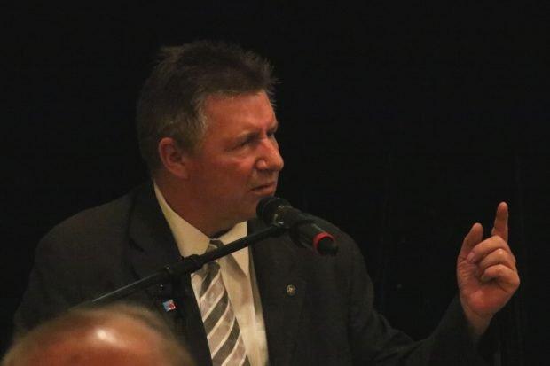 Edgar Naujok,Vorsitzender Kreisvorstand der AfD Leipzig Land sieht die