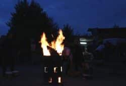 Noch brennt ein Licht bei der Halberg Guss in Leipzig. Foto: Michael Freitag