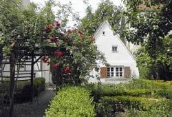 Garten des Schillerhauses. Foto: SGM