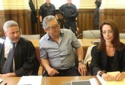 Gab er den Mordbefehl? Hüseyin D. (49, M.) mit seinen Verteidigern Curt-Matthias Engel und Ines Kilian. Foto: Franz Böhme