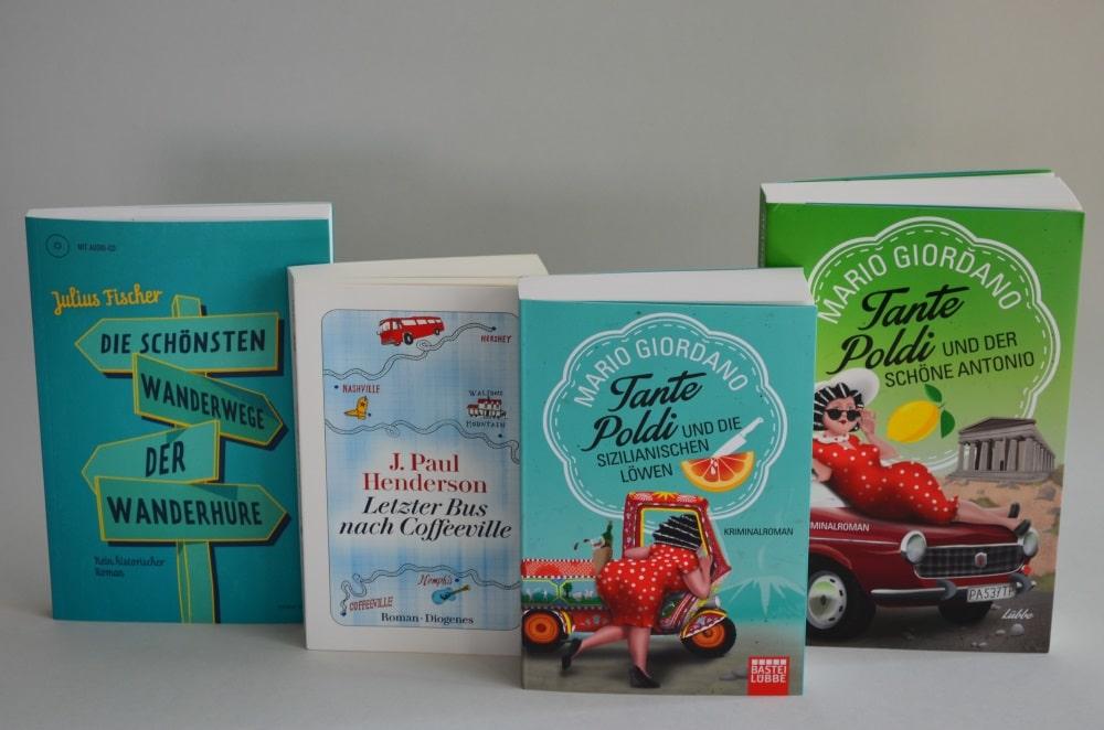 Bücher im Literaturcafe. Foto: SGM