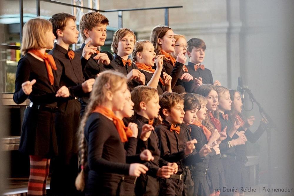 MDR-Kinderchor. Foto: Daniel Reiche