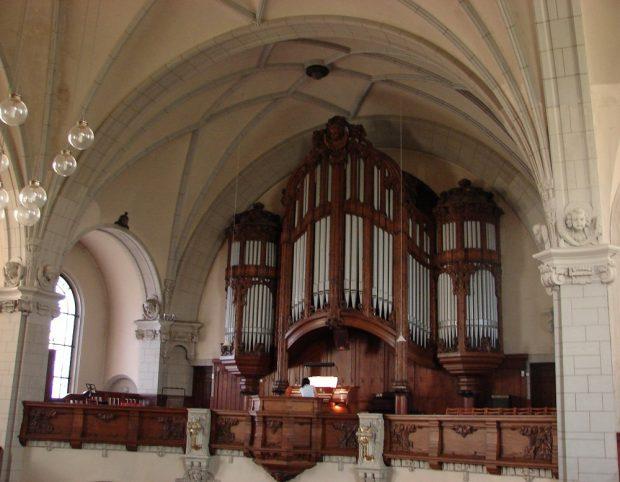Michaeliskirche, Sauerorgel, Foto: Kirchenbezirk