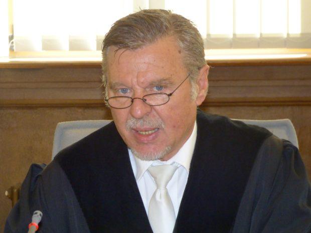 Der Vorsitzende Richter Norbert Göbel. Foto: Lucas Böhme