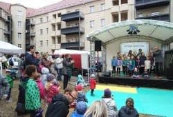 Auftritt der Singschule Leipzig e.V. Foto: Paarmann Dialogdesign