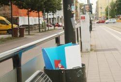 Wahlkampf-Plakat. Foto: Ralf Julke