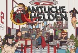 """""""Amtliche Helden"""". Foto: Arbeitsagentur"""