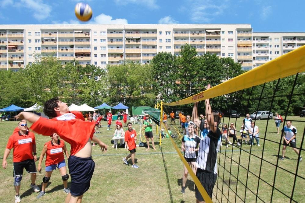 UNITAS Beachvolleyball Cup. Jan Möbius/WG UNITAS eG