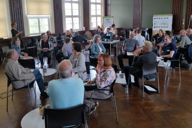 Erstes Forum zur Fortschreibung des WTNK. Foto: Grüner Ring Leipzig, Daniela Herburg