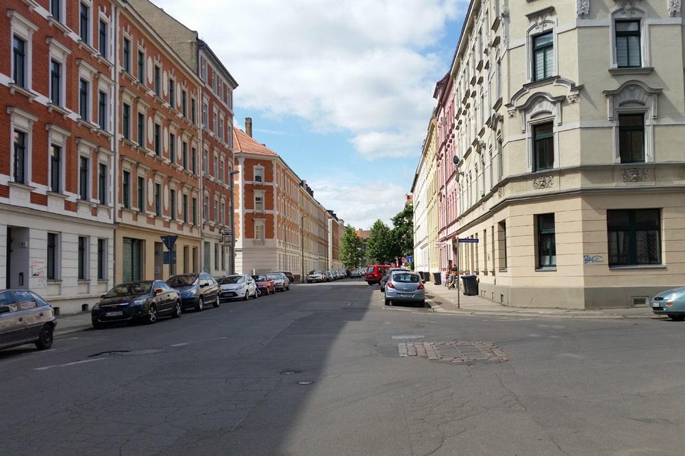 Henriettenstraße in Lindenau. Foto: Marko Hofmann