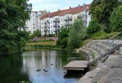 Kanalblick in Lindenau. Foto: Marko Hofmann