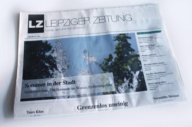 Leipziger Zeitung: Sommer in der Stadt ... Foto: Ralf Julke