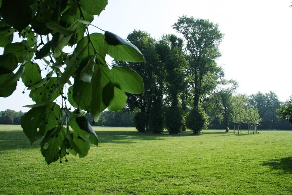 Mariannenpark in Schönefeld. Foto: Ralf Julke