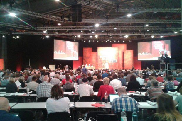 Bundesparteitag der Linken. Foto: René Loch