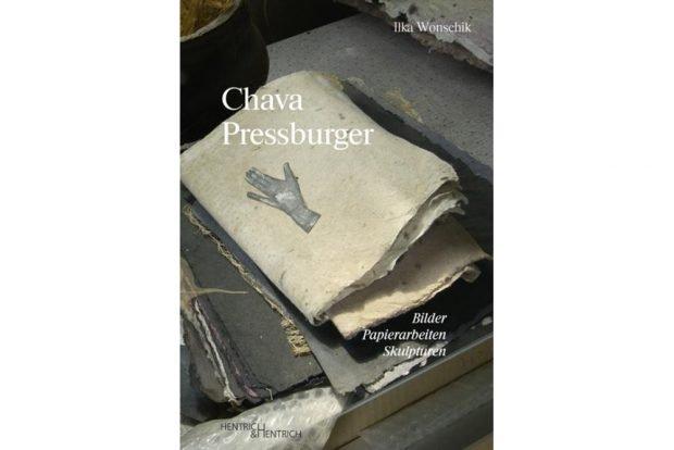 Ilka Wonschik: Chava Pressburger. Cover: Hentrich & Hentrich
