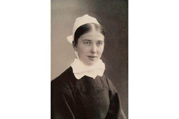 Die Diakonisse Marie Runkel als junge Schwester um 1910. Foto: Archiv Diakonissenhaus Leipzig