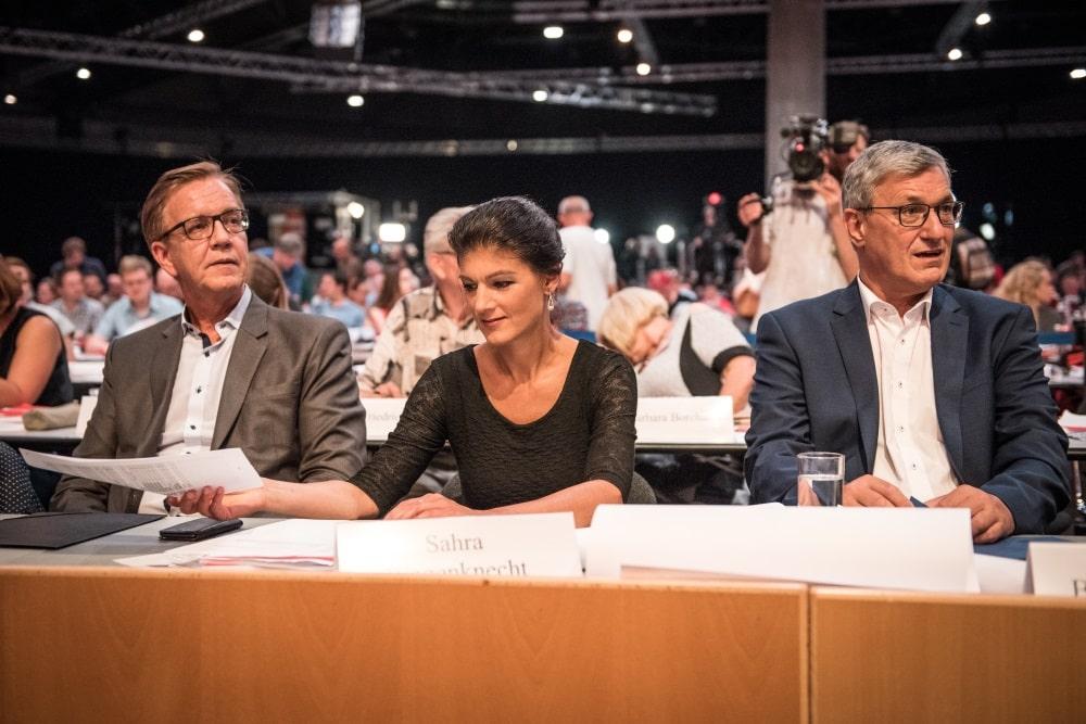 Es gab einiges an Kritik für Sahra Wagenknecht. Foto: Tim Wagner