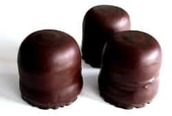 Drei renitente Schokomumphpfrrr ... Foto: L-IZ