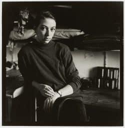 """Aus der Serie """"Frauenporträts"""": Silke Wagler, 1991 / 1992. Foto: Karin Wieckhorst"""