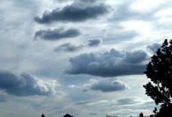 Wolken über Leipzig. Foto. Ralf Julke