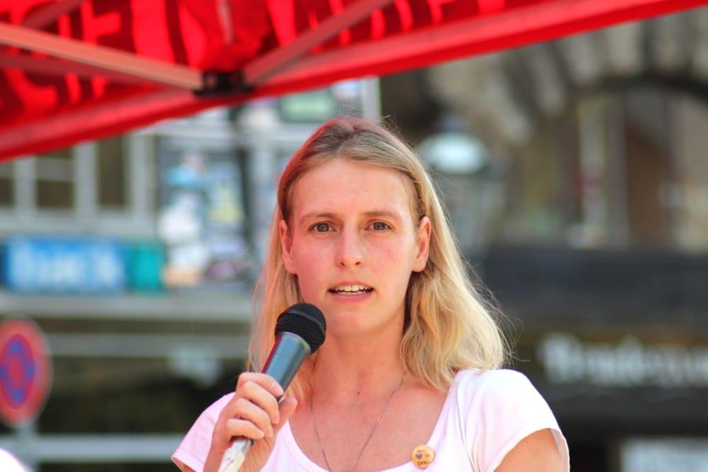 Franziska Riekewald (Stadträtin, Die Linke). Foto: Michael Freitag