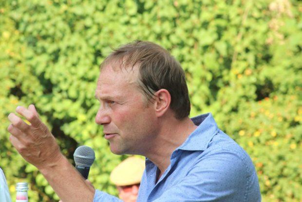 Wolfram Günther, Vorsitzender der Grünen-Fraktion. Foto: L-IZ