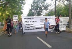 Demo gegen Abschiebungen. Foto: René Loch