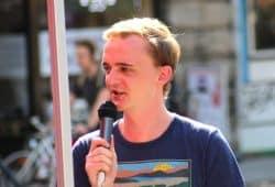 Marco Böhme (Landtagsabgeordneter, Die Linke). Foto: Michael Freitag