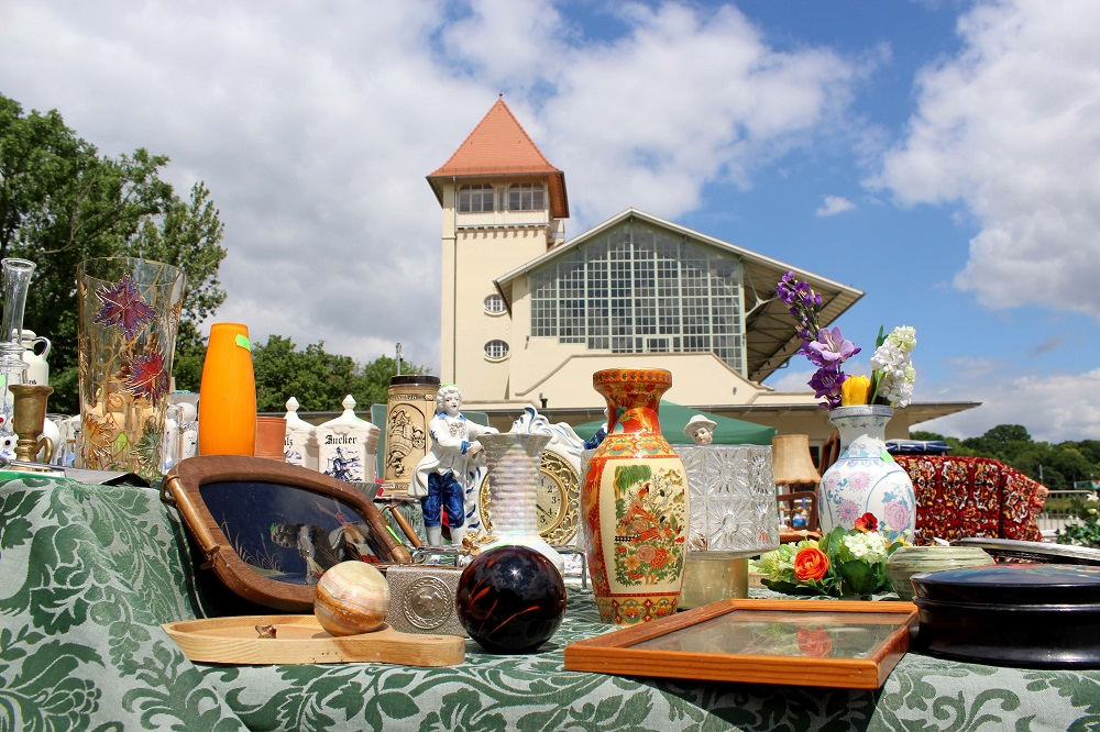 Flohmarkt, Foto: Scheibenholz GmbH & Co. KG