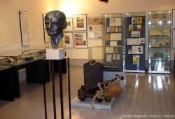 Blick in die Ausstellung. Foto: Joachim-Ringelnatz-Verein e.V.