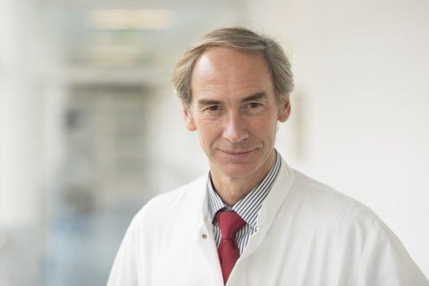 Prof. Thomas Berg, Leiter der Sektion Hepatologie am Universitätsklinikum Leipzig. Foto: Stefan Straube/UKL