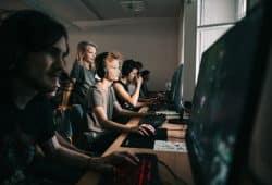 Lange Nacht der Computerspiele 2018. Foto: Marco Schur