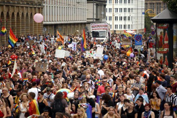 Ein Zwischenhalt am Augustusplatz. Foto: Alexander Böhm