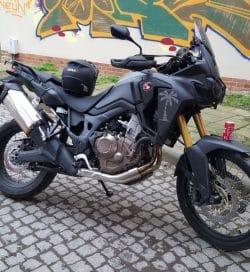 Die gestohlene Honda Africa Twin, Foto: Polizeidirektion Leipzig