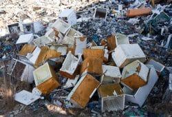 Illegaler Müll in Lobstädt. Foto: Michael Billig