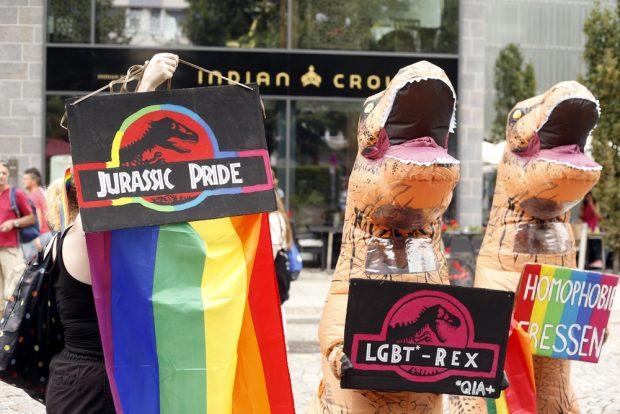 Jurasic Pride. Foto: Alexander Böhm