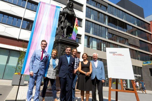 Traurigerweise nötig geworden: Ein Aktionstag gegen Gewalt und Intoleranz an der Universität Leipzig. Foto: Uni Leipzig/Swen Reichhold
