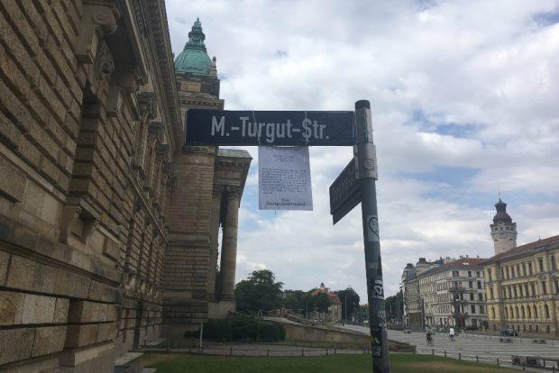 Erinnerung an NSU-Opfer in Leipzig. Foto: privat
