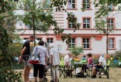 Nachbarschaftspicknick Pater-Aurelius-Platz. Foto: Schumann-Magistrale