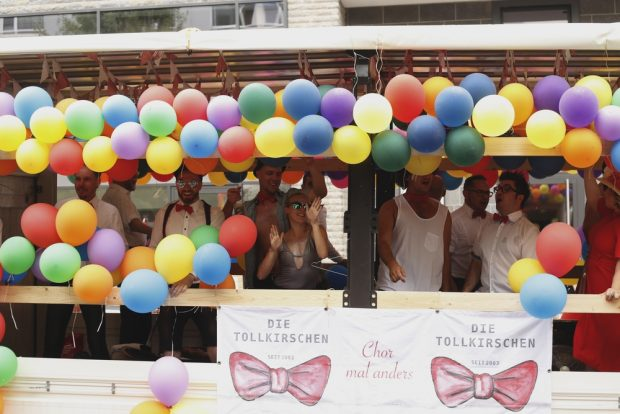 Party bei den Tollkirchen. Foto: Alexander Böhm
