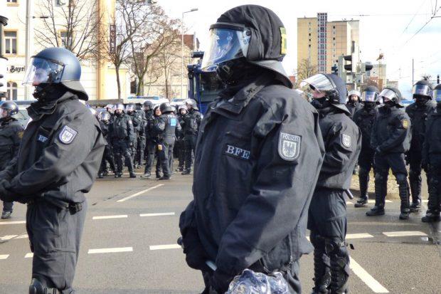 Auch ohne Gesetzesverschärfungen läuft nicht alles rund bei der Polizei Sachsen. Foto: Lucas Böhme