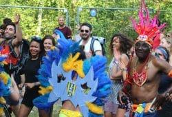 So viel Lebensfreude beim Tanz. Foto: Michael Freitag