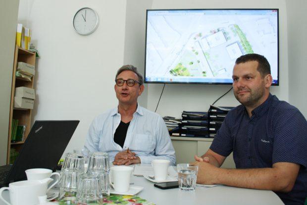 Die Stadträte Tim Elschner und Christopher Zenker. Foto: Ralf Julke
