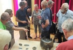 Eröffnung der Eythra-Ausstellung im Mai. Foto: KOMM-Haus