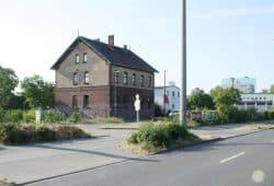Das Gelände des Freiladebahnhofs von der Eutritzscher Straße her betrachtet. Foto: Ralf Julke