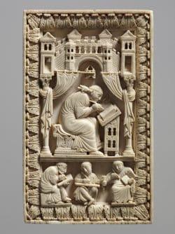 Heiliger Gregor mit den Schreibern, Kunsthistorisches Museum Wien. Foto: KHM Museumsverband